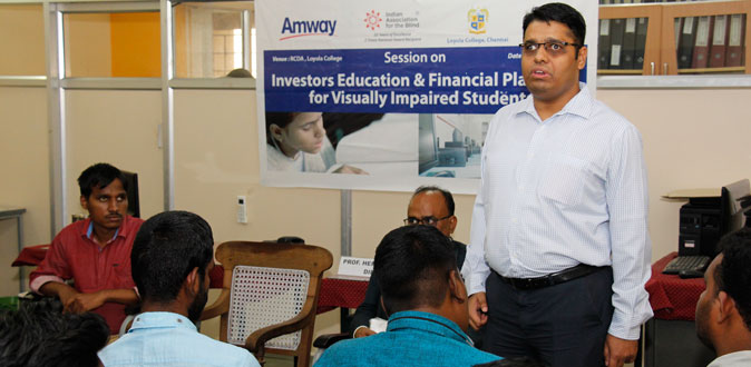 Amway India supports IAB for a workshop on Investor Education
