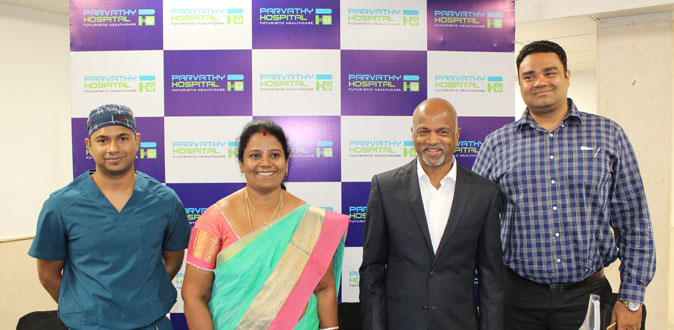 Parvathy Hospital create new record for Knee Replacement Surgery