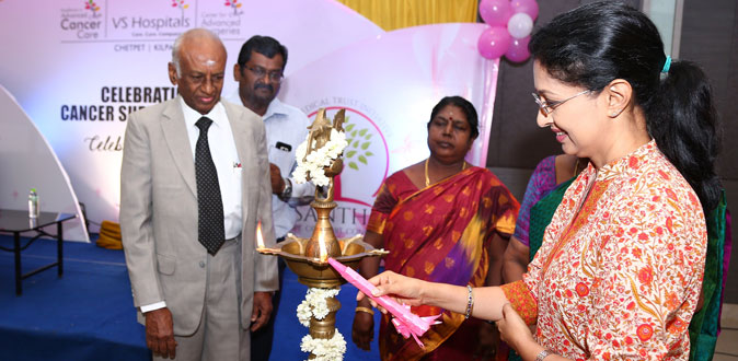 VS Hospitals honours Cancer Survivors