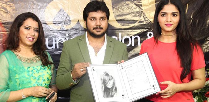 கோடம்பாக்கத்தில் திறக்கப்பட்ட 'ace salon & spa' - சுனைனா திறந்து வைத்தார்