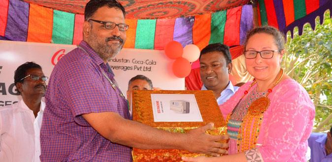Coca-Cola Beverages 's Model Village Dedication Programme at Tamil Nadu