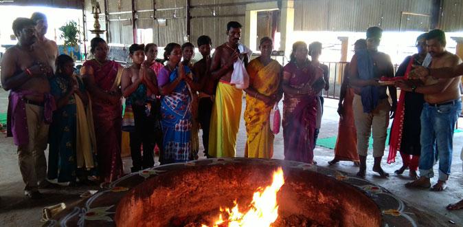 தன்வந்திரி பீடத்தில் அமாவசை யாகத்துடன் திருமஞ்சன திருவிழா துவங்கியது