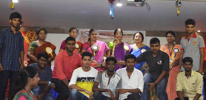 SDNB Vaishnav College Hosts Commerce Fest 2017