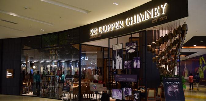 Copper Chimney now at VR Mall Anna Nagar