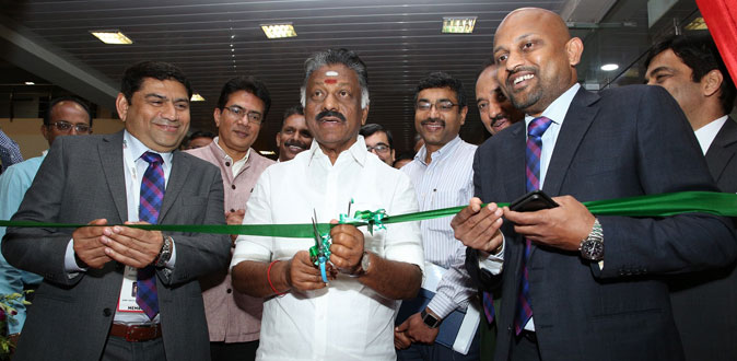 O Paneer Selvam Inaugurated the Chennai's Biggest Property Expo 'FAIRPRO 2019'