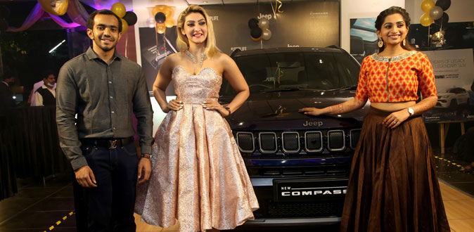 All New Jeep Compass Launched exclusively in VTK Automobiles Showroom, Chennai