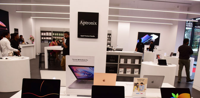 Aptronix, India's largest Apple Premium Reseller opens India's largest store in VR Mall Chennai