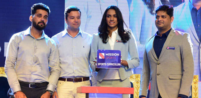 P.V. Sindhu to launch Mission Sports