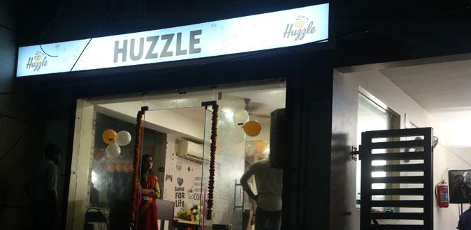 Chennai's 1st Gaming Café 'HUZZLE' at Nungambakkam