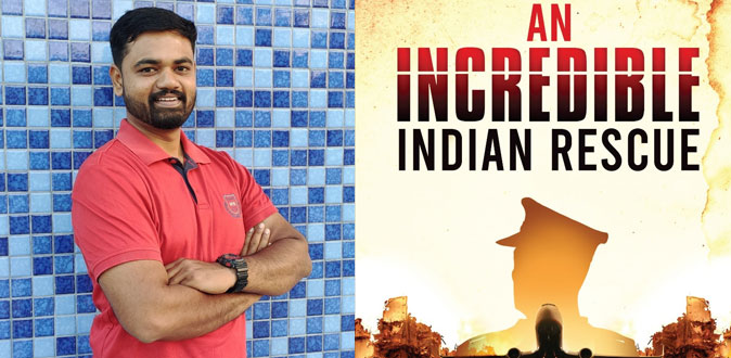 Prraveen Khumar launches his first book – An Incredible Indian Rescue