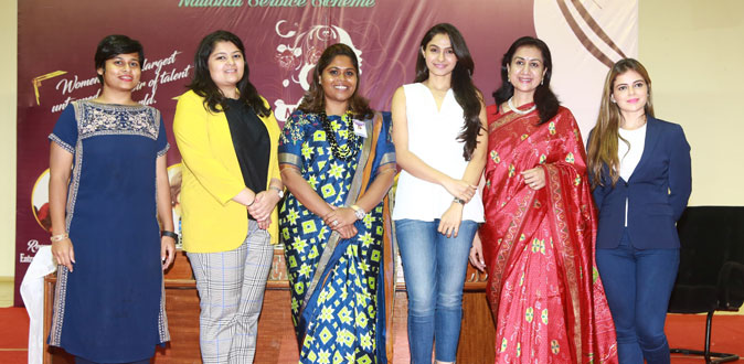 Women's Day celebrations at Jeppiar  Engineering college