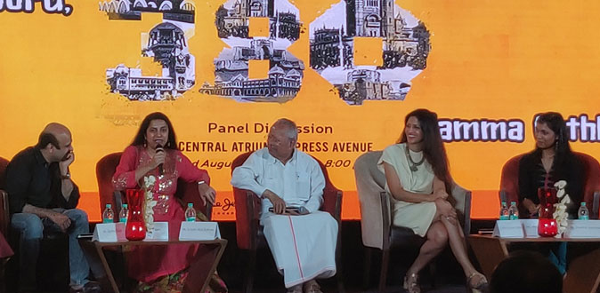 'Namma Chennai Namma Geththu' Themed Panel Discussion at Express Avenue for Madras Day