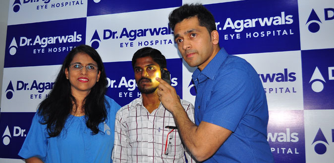 Fist time in World, Dr.Agarwal's Eye Hospital performs a Uniqueinnovative surgical Technique