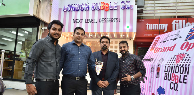 London Bubble Company opens its first outlet in Chennai