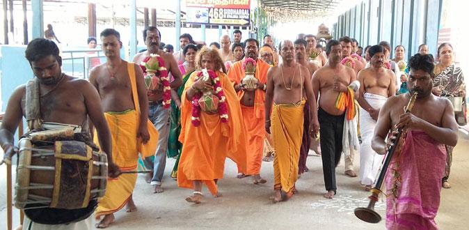 ஸ்ரீதன்வந்திரி பீடத்தில் நடைபெற்ற ராகு-கேது பெயர்ச்சி யாகத்தில் அன்னபூரணி அம்மா!
