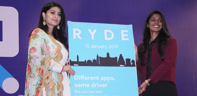 New Cap Service Ryde launch at Chennai