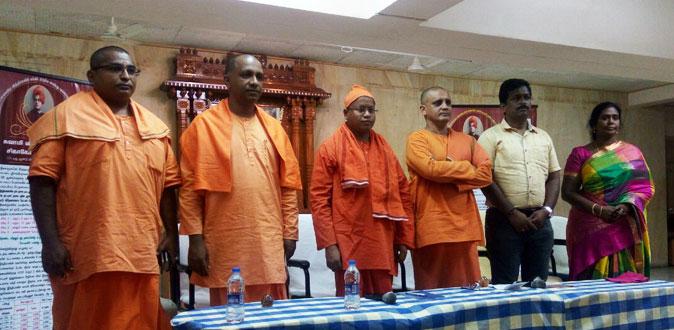விவேகானந்தரின் சிகாகோ சொற்பொழிவின் 125 வது ஆண்டை கொண்டாடும் ஸ்ரீ ராமகிருஷ்ண மடம்