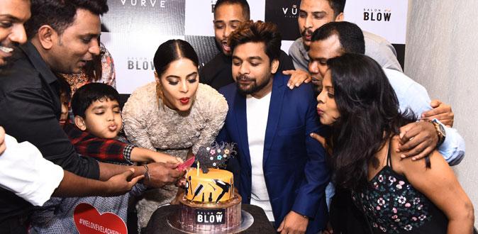Bindu Madhavi inaugurates Salon Blow at Velachery