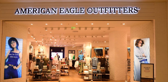 American Eagle launches their newest outlet at VR Mall Chennai