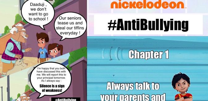 This October, Nickelodeon urges you to STAND UP! BE HEARD!