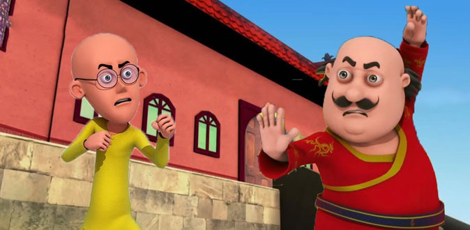 'Motu Patlu Kungfu Kings 4' in Nickelodeon