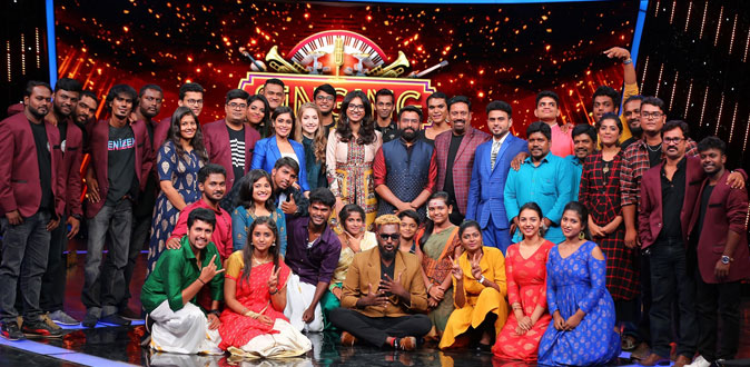 Get ready for an enthralling evening of musical battle on Singing Stars