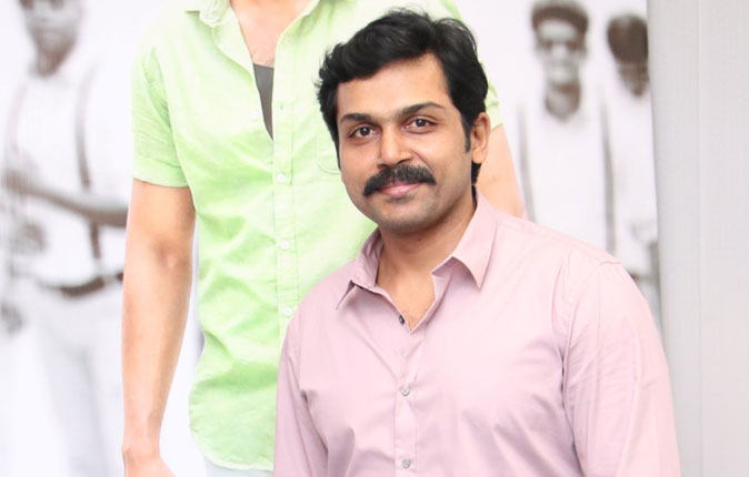 Karthi speaks about Theeran Adhigaaram Ondru Video