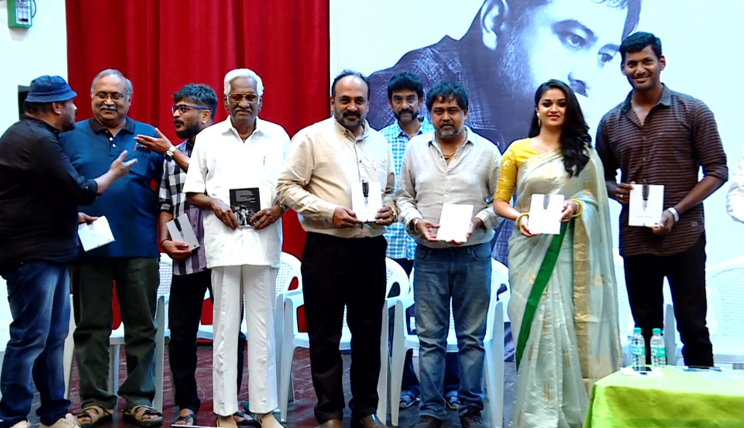 Director Linguswamy's Haiku Poetry Book Released by Vishal