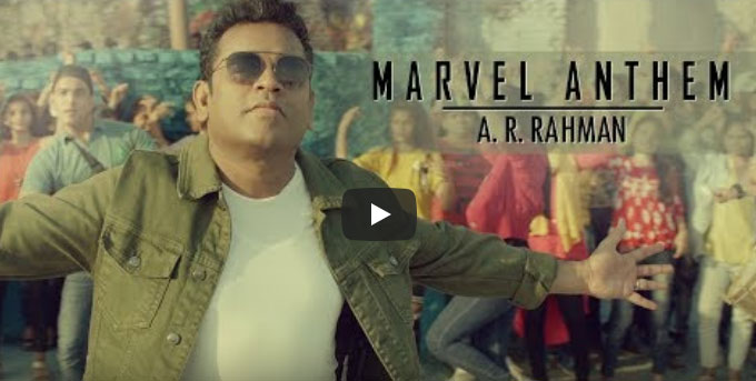 Marvel Tamil Anthem