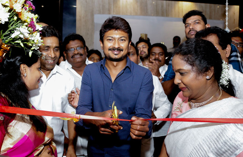 Actor Udhayanidhi Stalin Inaugurated S Hotels