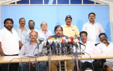 Cinema Strike 2nd Day - FEFSI Press Meet
