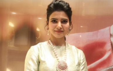 Actress Samantha in NAC Antique Exhibition