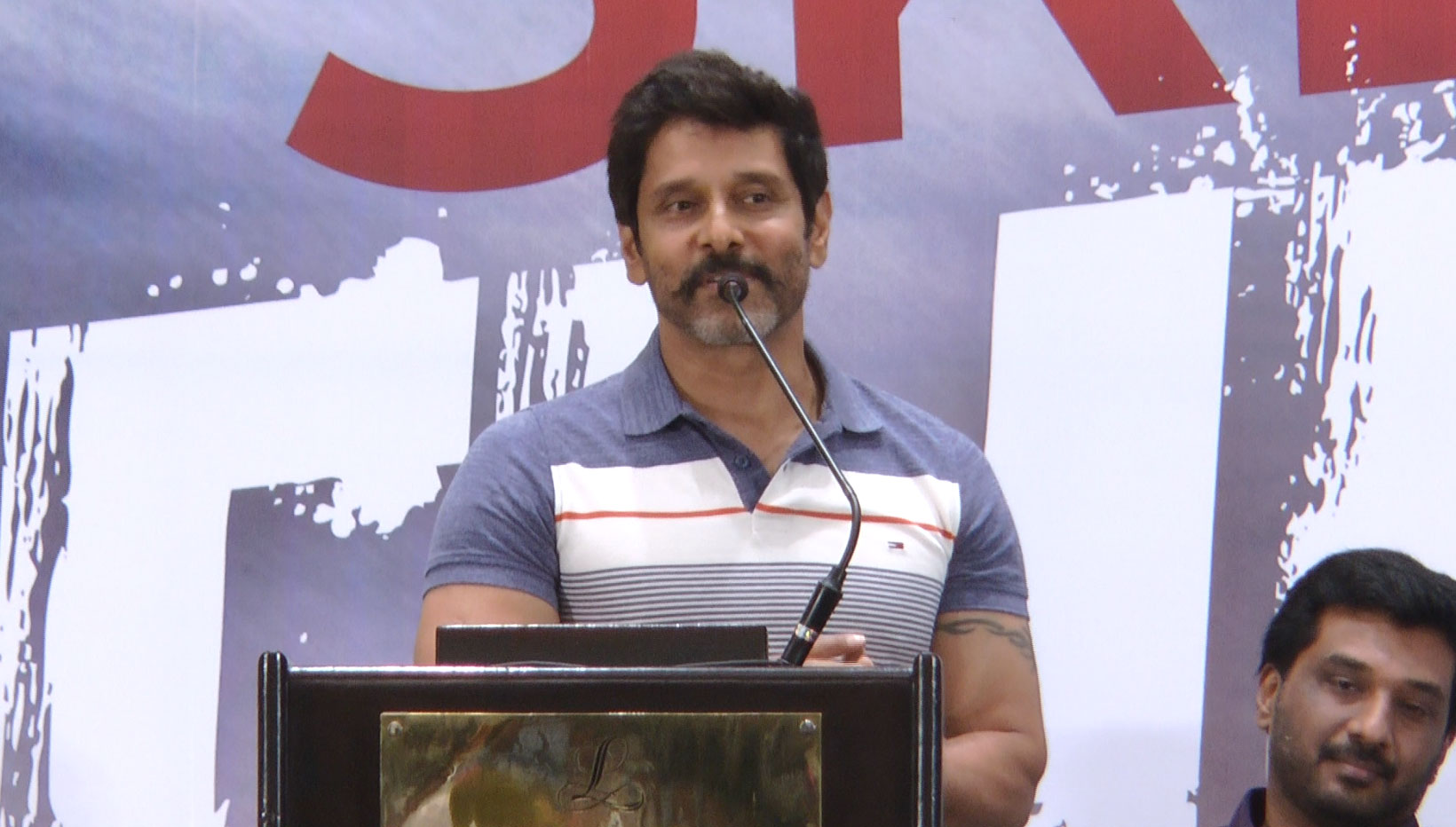 Vikram speaks first time about Sketch movie