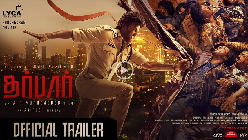 DARBAR Movie Official Trailer